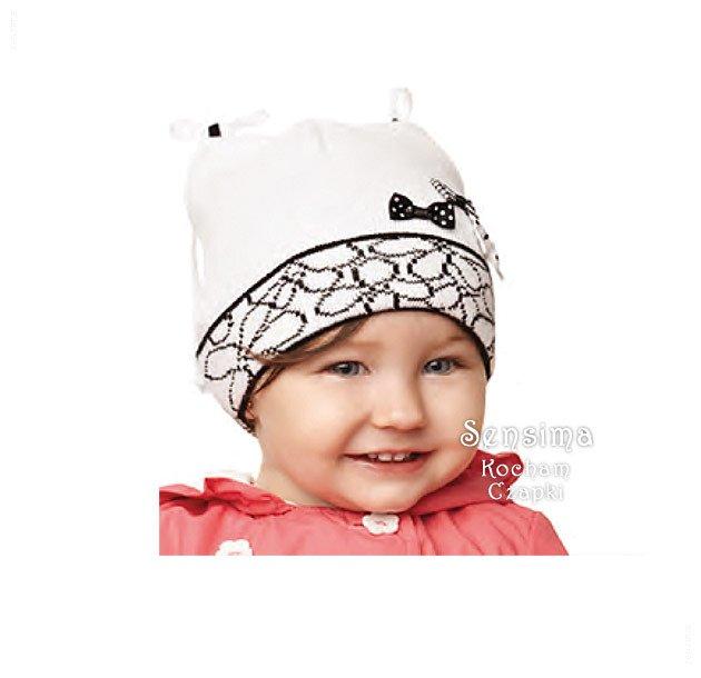 bbb5bea256427e pol_pl_Czapka-wiosenna-jesienna-dla-dziewczynki -dzianinowa-Kokardi-rozm-45-47-cm-363_1.jpg