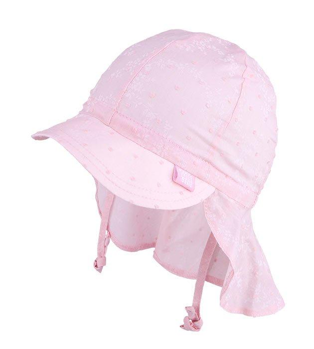 czapka typu safari, czapka z daszkiem, dziewczynka, na lato