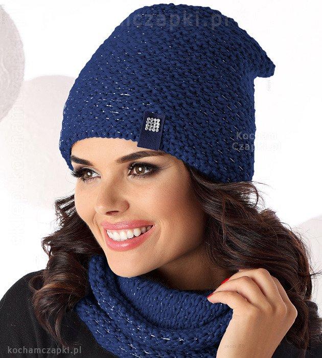 czapka damska, zimowa
