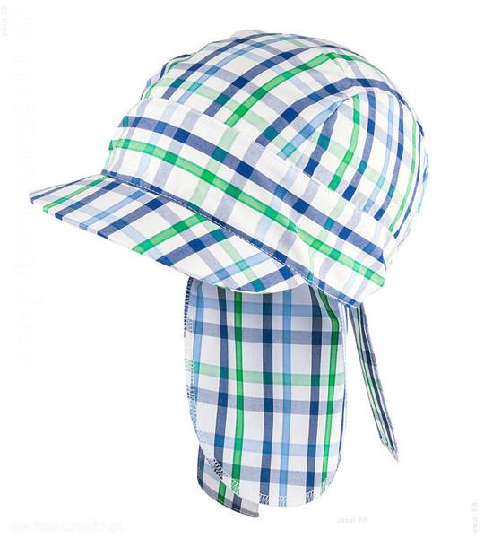 chustka na głowę dla chłopca na lato