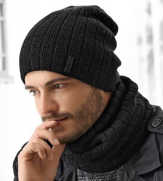 czapka zimowa męska