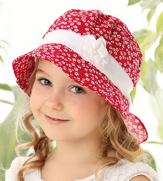 czapka na lato dla dziewczynki
