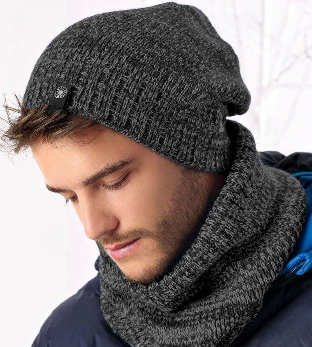zimowa czapka męska